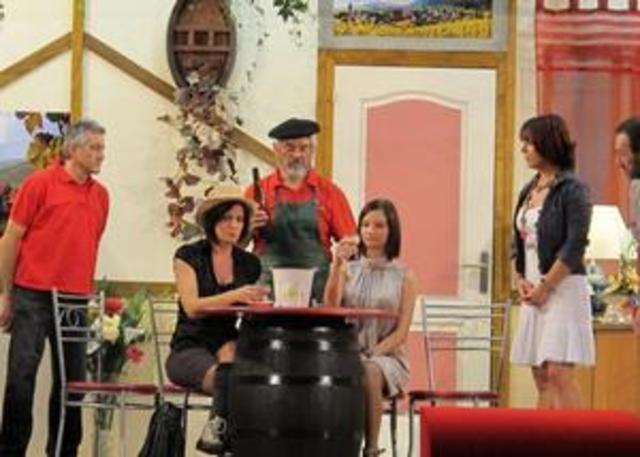 Une comédie viticole Awerscher Theater Kumpel de Ebersheim